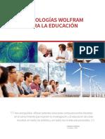 Tecnologias Wolfram Para La Educacion