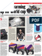 Bangalore Mirror Special on FIRA'10. S.A.V.E is featured in the left column.