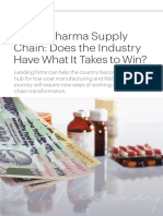 Indias Pharma Supply Chain