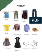 dictionnaire visuel vêtements