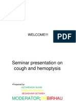 Cough & Hemoptysis
