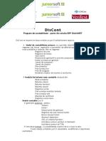 Program de Gestiune Contabilitate DisCont - Junior Soft