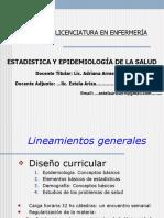 Epidemiologia- Clase 1