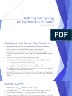 hierarchicalclusteringforpsychometricvalidation-170607162804