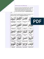 Asmaul Husna _99 Nama-Nama Indah Allah_2