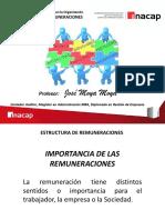 3. 2. Estructura de Remuneraciones