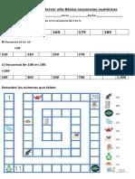 Guía de trabajo tercer año Básico secuencias numéricas.docx