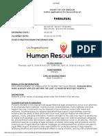 Job Bulletin- Paralegal R9232A