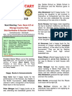 Moraga Rotary Newsletter.3.27.18