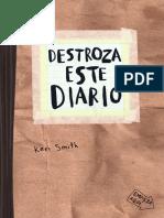 Destroza Este Diario Craft (Muestra).