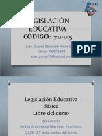 Presentación Legislación Educativa