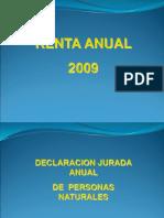 Renta Anual 2009 -1