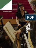 PGCert Performance Teaching
