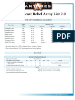 Ghar Rebel Army List Antares V2.0 PDF