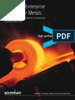 Accenture Enterprise Services Metals