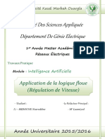 Application de La Logique Floue R Gulation de Vitesse