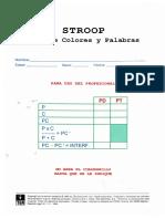 Protocolo Stroop