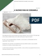 Harina Refinada_ Razones Para No Consumirla - Barcelona Alternativa