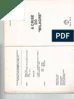 Paul Singer - A Evolução Da Economia Brasileira 1955-1975 in a Crise Do Milagre