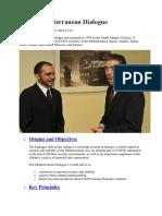 NATO's Mediterranean Dialogue