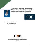 Obesidad y Genetica - Dras. Gomez y Flores