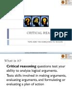 19861 L8 Critical Reasoning