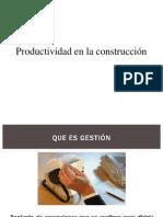 Clase N° 1 proyectos de construccion