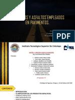 Agregados y Asfaltos Empleados en Pavimentos [Autoguardado]