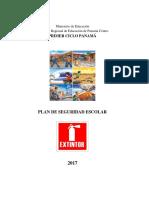 Folleto Del Plan de Seguridad 2017 PRIMER CICLO PANAMÁ