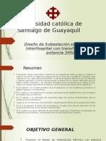 DISEÑO DE SUBESTACIÓN ELÉCTRICA PPT