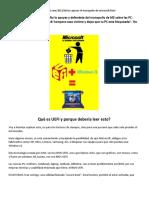 UEFI Secure Boot y Microsoft