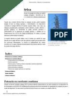 Potencia Eléctrica - Wikipedia, La Enciclopedia Libre