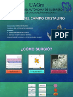 Teoría Del Campo Cristalino TCC