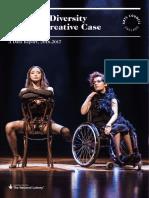 ARTS COUNCIL Equality Diversity Report 1617 FINAL Web