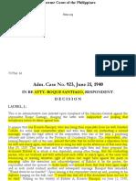 02 Adm. Case No. 923, June 21, 1940