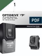 Optidrive P2 Advanced User Guide Rev 1.00 (2)