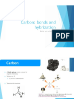 Carbon Bonds and Hybridization