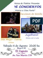 Afiche Agosto 2016