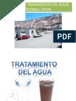 Planta de Tratamiento de Agua Potable Vitorp