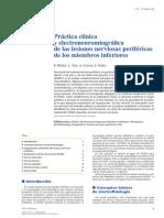 Practica Clinica y Emg de Las Lesiones Nerviosas Perifericas de Los Miembros Inferiroes
