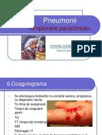 Pneumonii paraclinic