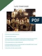 Cele 9 Porunci Bisericești