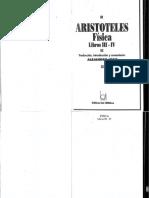 Aristoteles Fisica Libros III - IV Completo Abierto Hz Of