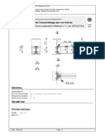 Note de Calcul Assemblage Solive-Poutre Principale Métallique