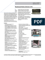 Digital Vision Network DVN 5000 Real-Time Rackmount Series (Version 2.9+) Catalog Page