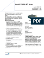 Digital Vision Network DVN 100-NET Series Product Bulletin