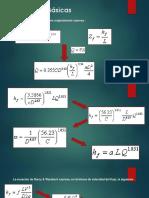 Ecuaciones Básicas