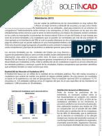 BoletinCAD RankinCAD SAC Ministerios2013