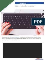 200 Keyboard Shortcuts
