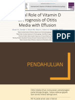 Clinical Role of Vitamin D in Prognosis of OME